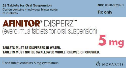 Afinitor Disperz Everolimus 5 mg Tablet