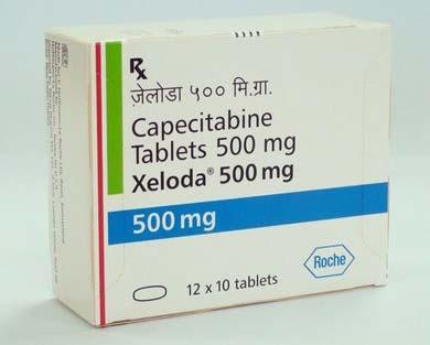 Xeloda 500mg Tablets