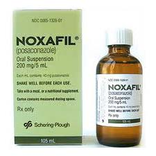 Noxafil 200mg Oral Suspension