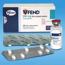 Vfend 200 mg Tablets