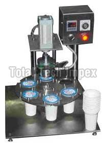 Pneumatic Cup Sealing Machine