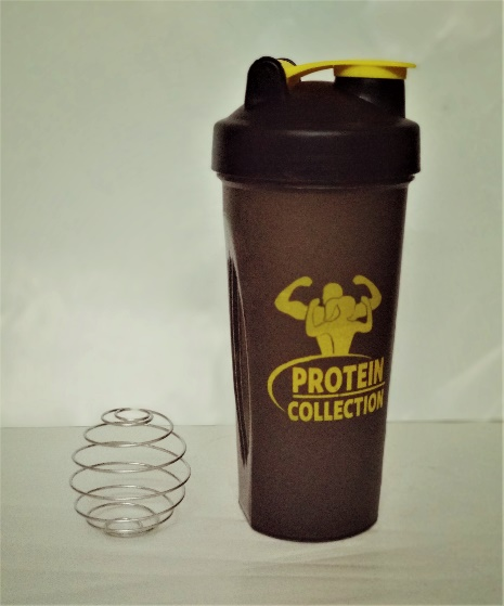 700 ml Gym Shaker with Spring 06