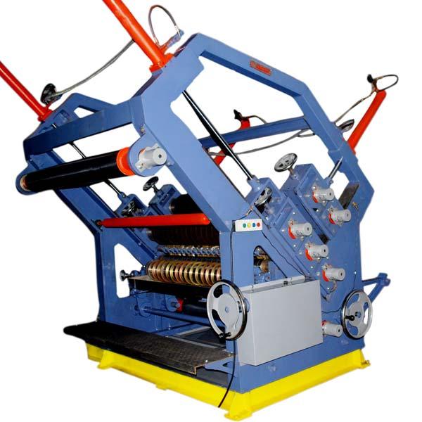 Two Profile Paper Corrugation Machine