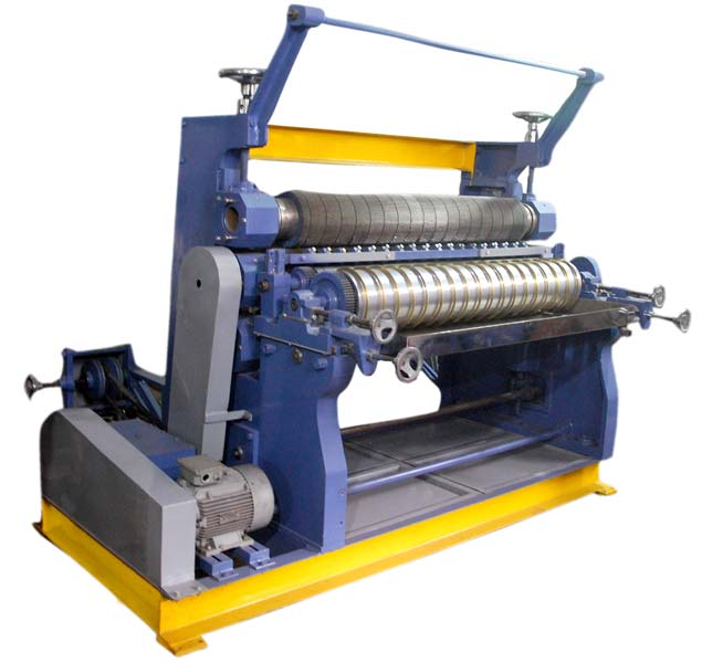 Vertical Corrugating Machine