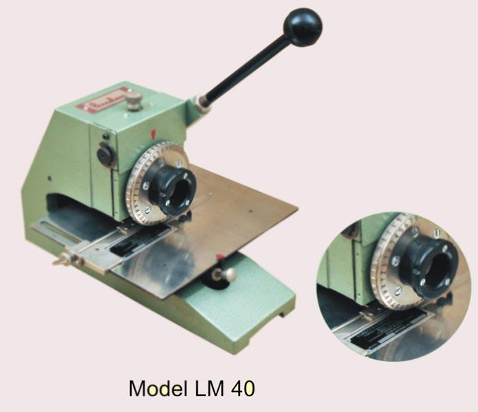 Metal Label Marking Machine