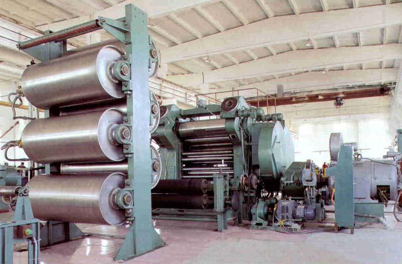 Rubber Calendering Line Manufacturer Supplier In Delhi India