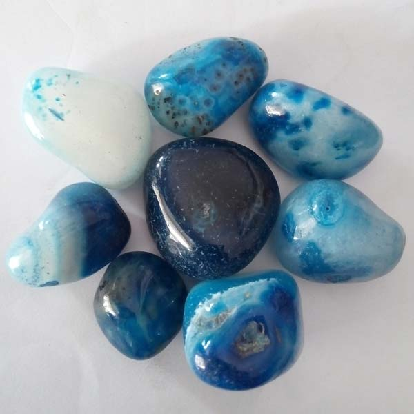 Blue Onyx Pebble