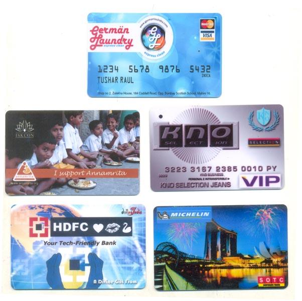 PVC Coin Card 06