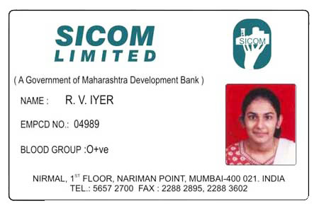 PVC Employee ID Card 01