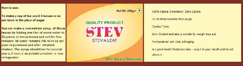 Stevia Syrup