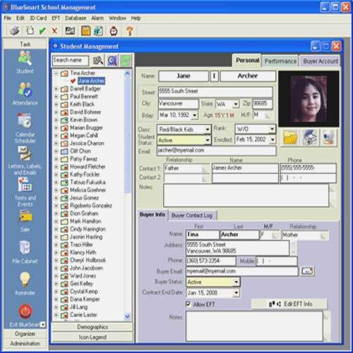 Attendance Report Generation Software
