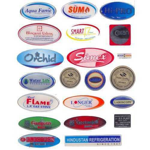 Epoxy Coated Dome Labels