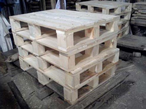Wooden Four Way Pallets