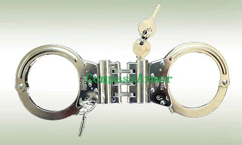 Hinged linked Police Handcuff (Phc-L05)
