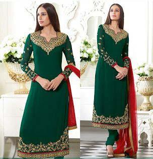 Ladies Georgette Semi Stitched Salwar Suit 02
