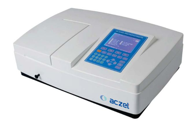 UV/VIS Spectrophotometer- Multi wavelength Scanning