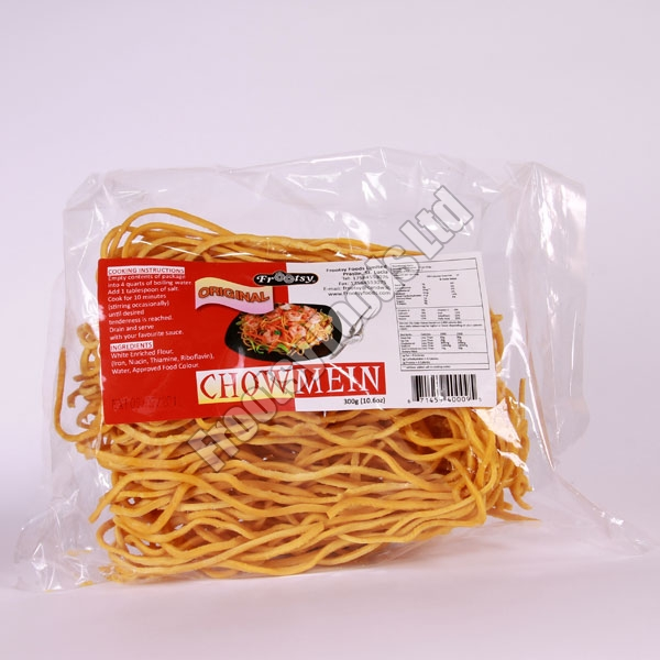 Packaged Chow Mein Noodles