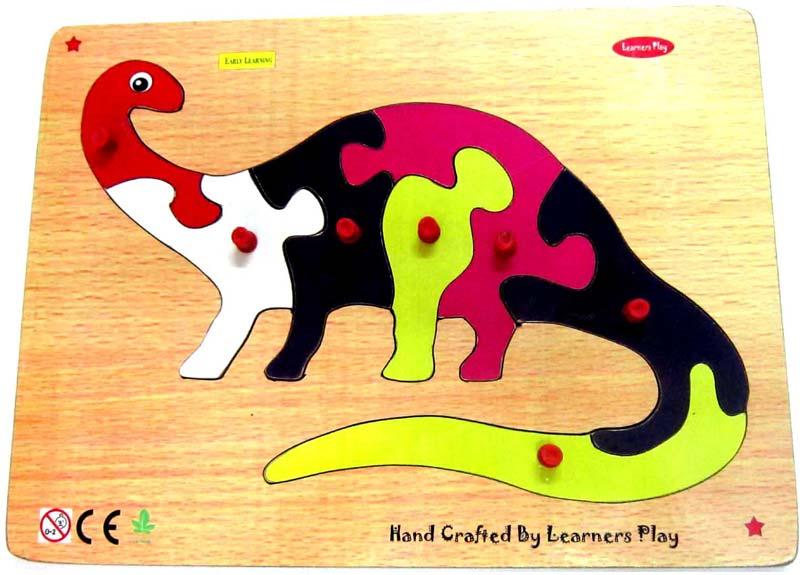 Wooden Knob Puzzle
