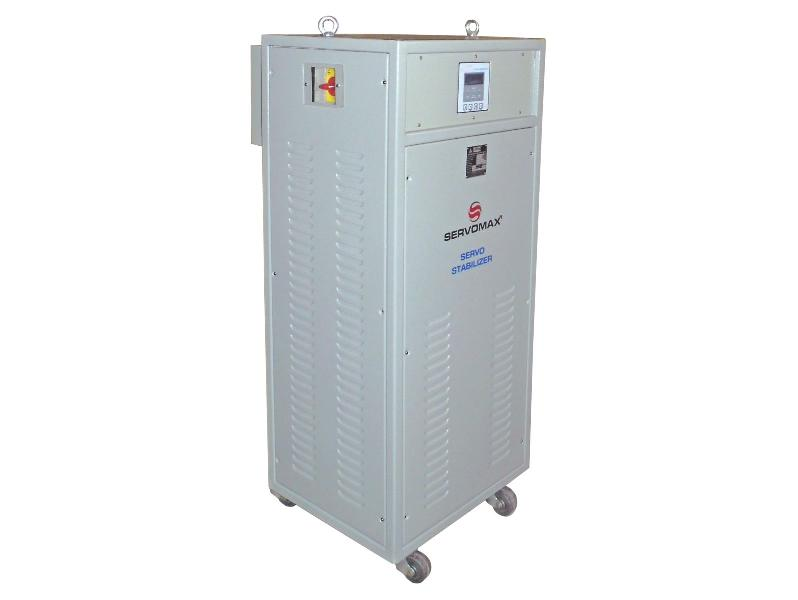 3 Phase Air Cooled Servo Controlled Voltage Stabilizers