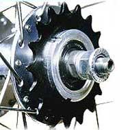 Axle Sprocket Gear