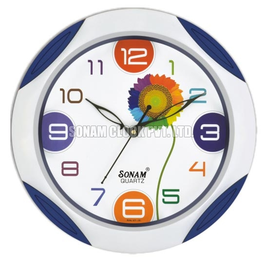 Picture Dial Wall Clock