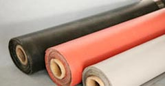 Silicone Rubber Coated Fabric,Rubber Coated Fabrics Exporters from