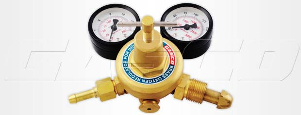 Gas Regulator Single Stage Double Gauge