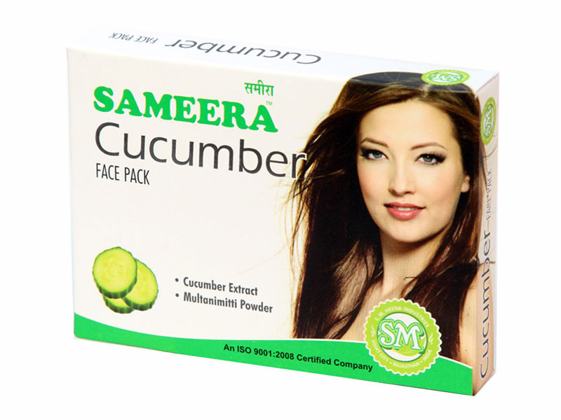 Sameera Cucumber Face Pack