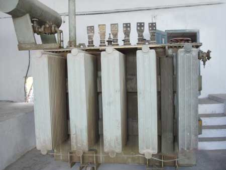 Scrap Distribution Transformer