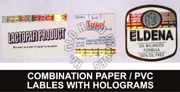 PVC Label Holograms