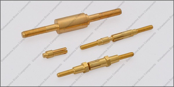 Brass Electrical Pins 01