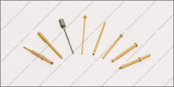Brass Electrical Pins 03