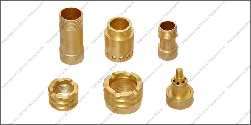 Brass Forged Component 01