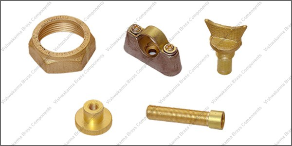 Brass Forged Component 04