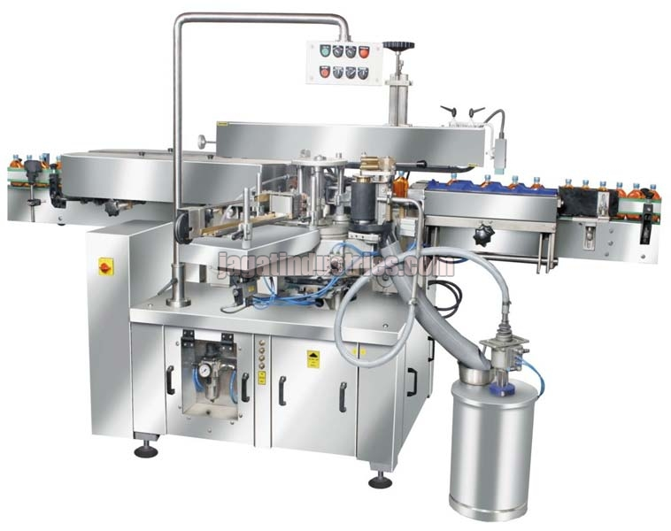 Automatic Linear Labeling Machine (Wet Glue)