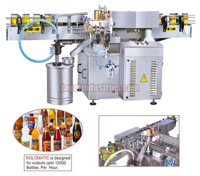 Automatic Wrap Around Labeling Machine