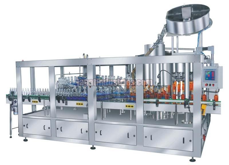 Gravity Combiblock Rinsing Filling & Sealing Machine