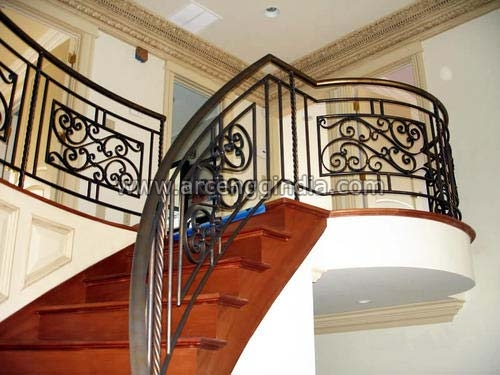 Mild Steel Staircase Railings