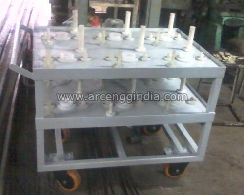 Washing Trolley For Gear Plant