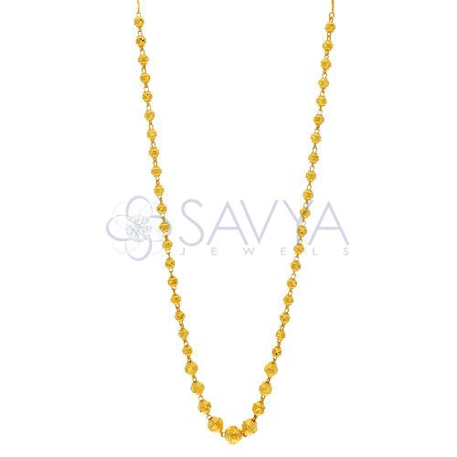 Gold Ball Kanthi Chains