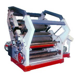 Dual Flute Single Face Paper Corrugating Machine
