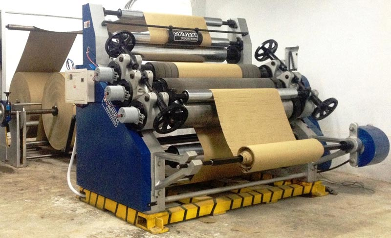 Single Face Paper Corrugating Machine Manufacturer in Delhi,India
