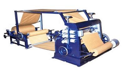 BOXMAC Vertical Type Paper Corrugation Machine
