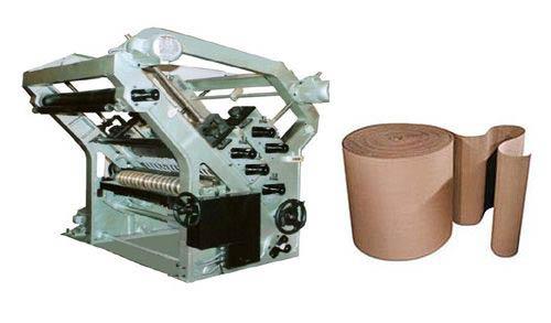 BOXMAC Double Profile Paper Corrugation Machine