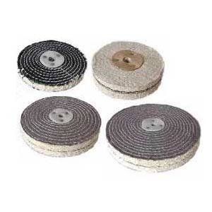 Colored Cotton Buffing Wheels