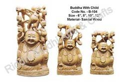 Sandalwood Laughing Buddha