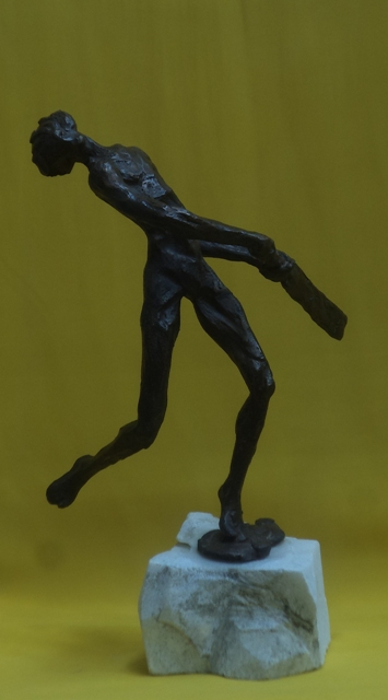 creative bronze figurative sculptures