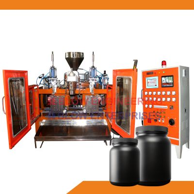 5 Ltr. Double Station Blow Molding Machine