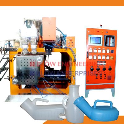 Double Cavity Plastic Blow Molding Machine