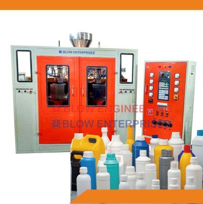 Double Station 4 Cavity Auto Deflashing Blow Molding Machine